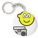 Boom box radio buddy icon   keychains