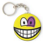 Black eyed smile   keychains