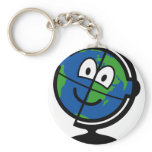 Globe buddy icon   keychains