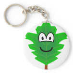 Blad emoticon   keychains