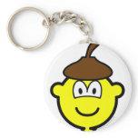 Acorn buddy icon   keychains