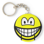 Jaw dropped smile   keychains