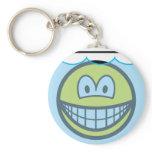 Fishbowl smile   keychains