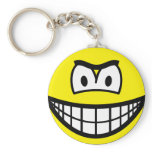 Frowning smile   keychains