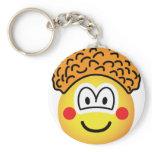 Clown emoticon   keychains