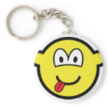 Happy face buddy icon   keychains