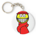 Cold weather smile   keychains