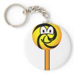 Lollipop emoticon   keychains