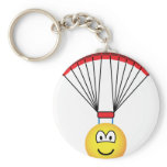 Parachute emoticon   keychains