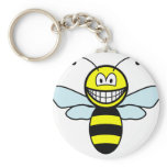 Bumble bee smile   keychains
