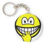 Finger sucking smile   keychains