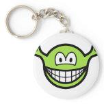 Shrek smile   keychains