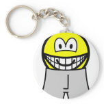 In boxer short smile   keychains