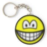 Blurry smile   keychains