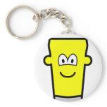 Pint of emoticon   keychains