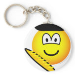 Frenchman emoticon   keychains