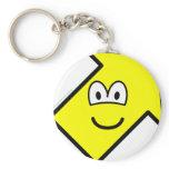Up right buddy icon arrow  keychains