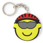 Biker buddy icon glasses  keychains