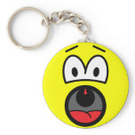 Scared smile   keychains