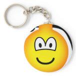 Grenade emoticon   keychains