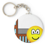 Church going emoticon   keychains