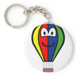 Balloon buddy icon Colorful  keychains