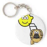 Guide dog buddy icon   keychains