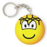 Jesus emoticon   keychains
