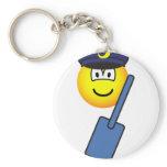 Postman emoticon   keychains