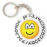 Pi emoticon   keychains