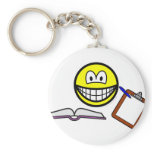 Manager smile   keychains