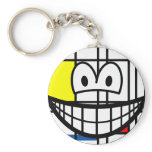 Mondriaan smile   keychains