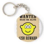 Wanted poster buddy icon   keychains