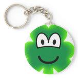 Clover emoticon   keychains