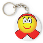 Little red riding hood emoticon   keychains