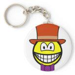 Willy Wonka smile   keychains
