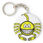 Scorpio smile Zodiac sign  keychains