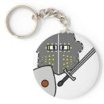 Fighting Knight emoticon   keychains