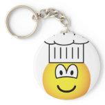 Chef emoticon   keychains