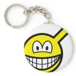 Male smile   keychains