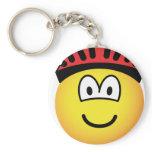 Biker emoticon   keychains