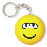 Sleepy emoticon   keychains