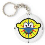Compass buddy icon   keychains