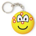 Acne emoticon   keychains
