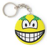 Caesar smile   keychains