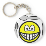 Cutlery smile   keychains