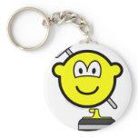 Curling buddy icon   keychains