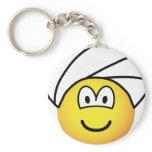 Turban emoticon   keychains