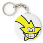 Shooting star smile   keychains