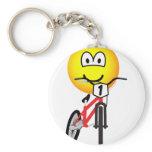 BMX emoticon Olympic sport Cycling keychains